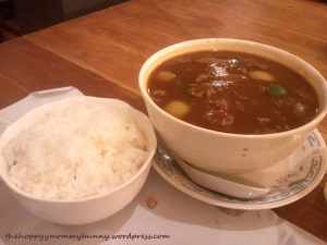 beef curry rice