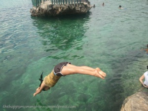 Perfect dive