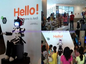 Aedi the robot
