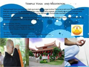 Temple Yoga Invitation