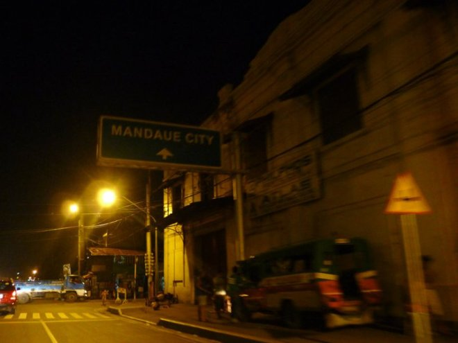 To Mandaue City