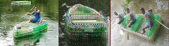 Recycled Rescue Boats