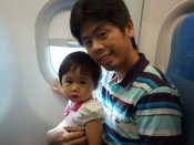 July 2012, Cebu, Yui's first airplane ride