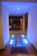 Cool lighted pathway