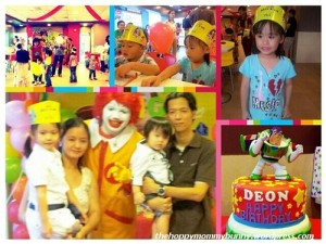 Deon turns 1