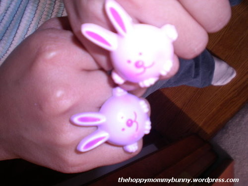 BFF Bunny Rings