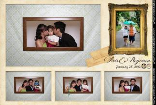 January: Started the year with love as we attended our dear friends' wedding