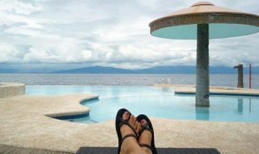 September: At Costa De Leticia resort in Cebu