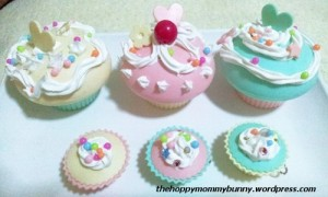 After: Yui-decorated cuppies