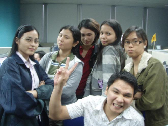 2007ish: Everyone in this photo, except me, moved on...