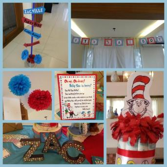 Dr. Seuss-inspired decors