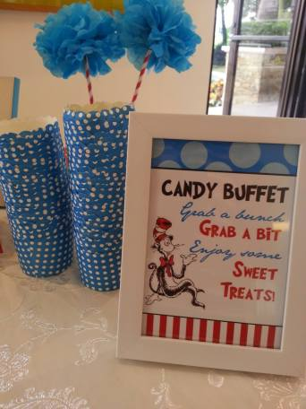 Candy buffet instructions