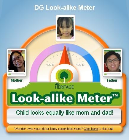 Look-alike meter 2013