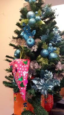 New christmas tree decoration