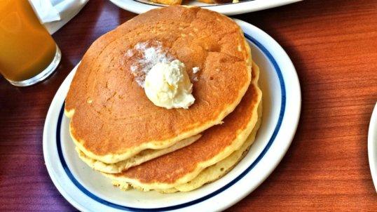 Buttermilk pancakes