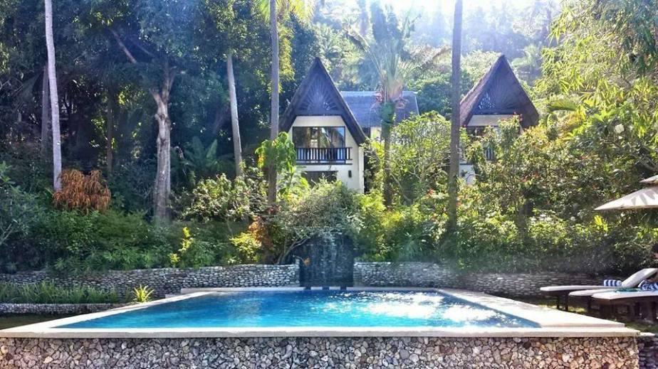 Refreshing pool at Buri Resort, Mindoro