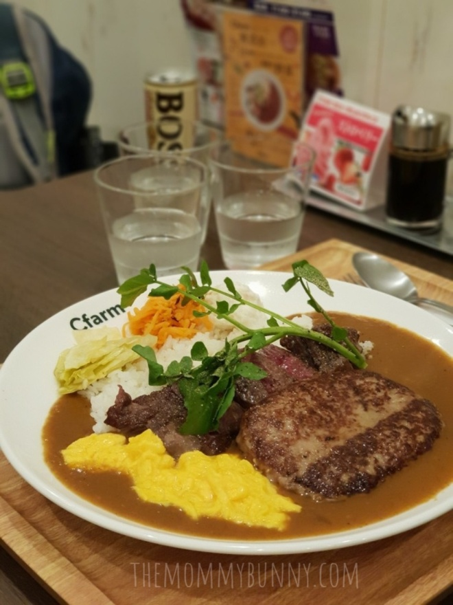 Wagyu and Hamburg Curry